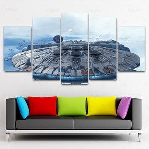 Star Wars Canvas Print 5 Piece
