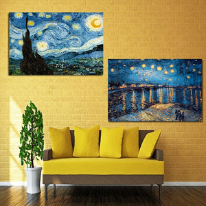 Van Gogh Starry Night Canvas Print