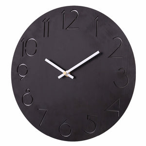 Simple Round Wall Clock