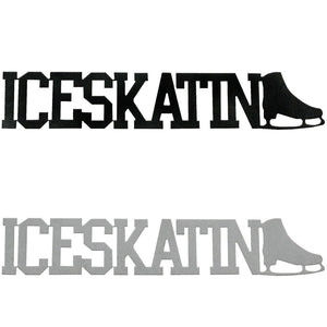 Ice Skating Word