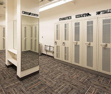 Locker Room with metal sport words - #7055inc