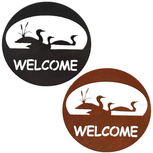 Loon Welcome Circle