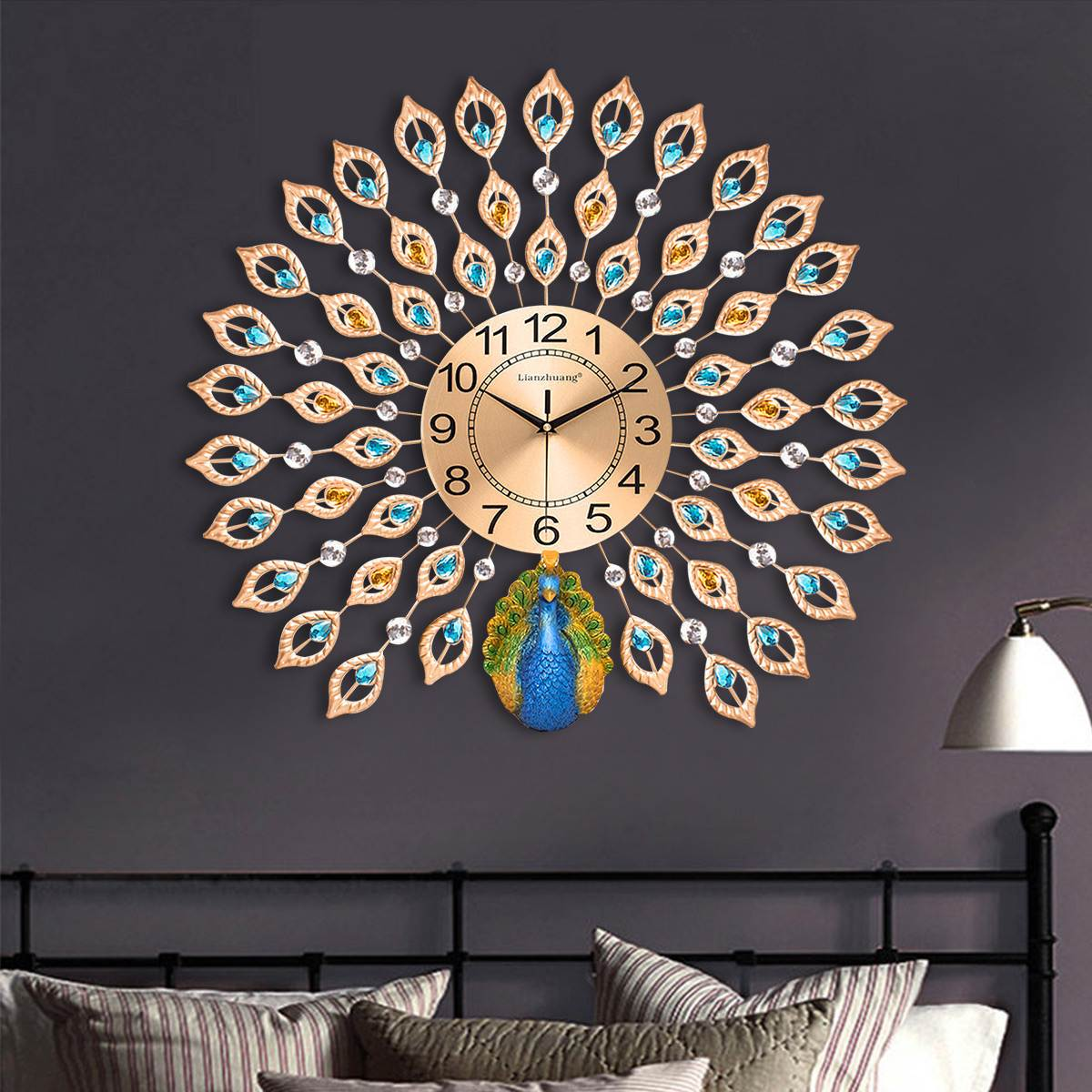 Peacock Designer Wall Clocks