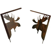 Moose Shelf Bracket Set - Rust - #7055inc