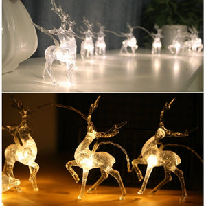 Deer LED String Light