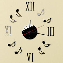Note Music Wall Clock