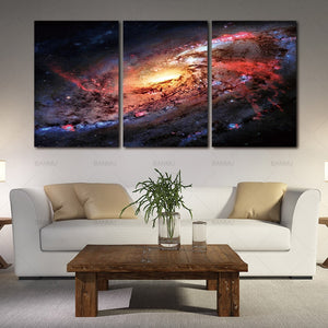 Space and Universe pace Landscape Canvas Print