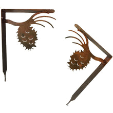 Pinecone Shelf Bracket Set - Rust - #7055inc