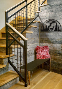 Running Deer Hoop in Entryway - #7055inc