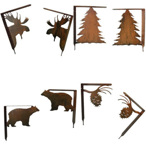 Shelf Brackets Rustic Southwestern Metal Wall Art