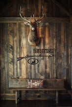 Hunting Word Rustic Southwestern Metal Wall Art