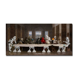 Star Wars The Last Supper Canvas Print
