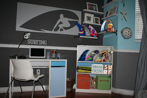 Surfing Themed Room - #7055inc