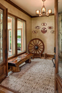 Rustic Western Style Entry Way - #7055inc