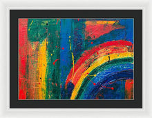 Abstract - Framed Print