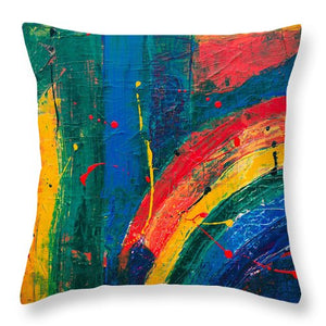Abstract - Throw Pillow