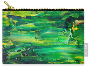 Green Abstract - Carry-All Pouch