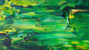 Green Abstract - Art Print