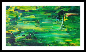 Green Abstract - Framed Print