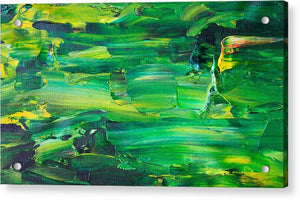 Green Abstract - Acrylic Print