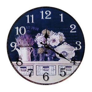 Vintage Colorful Wall Clock