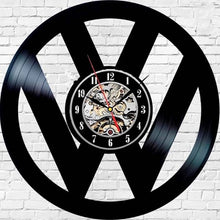 Vinyl Record Car Wall Clock