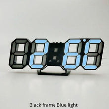 3D LED Digital Wall Clock