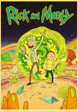 Rick and Morty Canvas Print