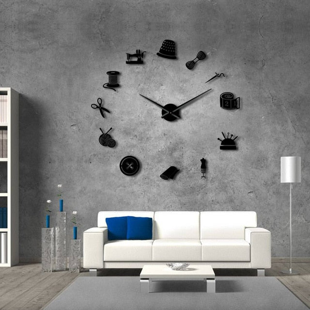 Tailor Shop Wall Clock 37