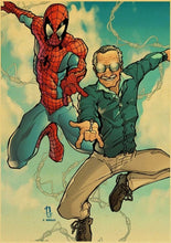 Marvel Father Stan Lee Canvas Print