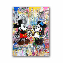 Street Art Canvas Painting Graffiti Art Canvas Print