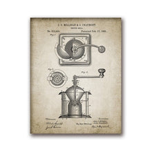 Coffee Maker and Bean Percolator Canvas Print