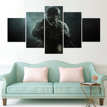 SOLDIER IN THE RAIN Canvas Print 5 Piece