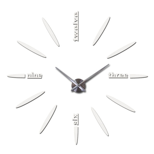 Acrylic Needle Wall Clock 37