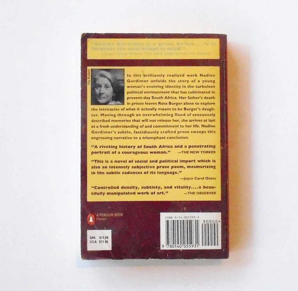 nadine gordimer burgers daughter