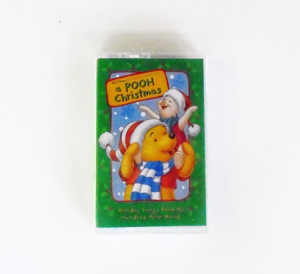 a pooh christmas holiday songs from hundred acre wood cassette tape front - Pooh Christmas