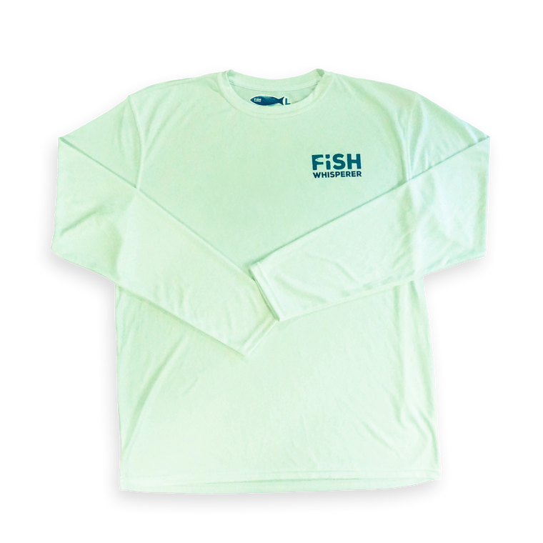 Long Sleeve Performance T-Shirt - Seafoam Green