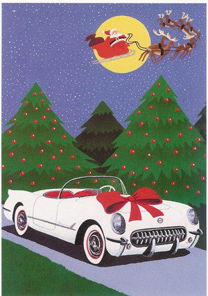 1953 Corvette Christmas Cards