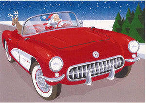 1957 Corvette Christmas Cards