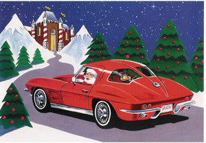 1963 Corvette Christmas Cards