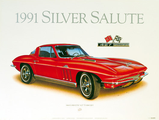 1966 Corvette Coupe Print