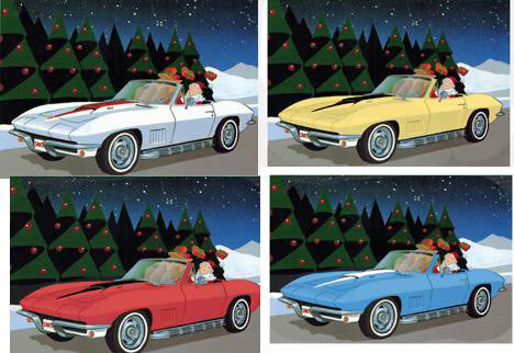 1967 Corvette Christmas Cards