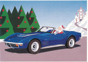 1972 Corvette Christmas Cards