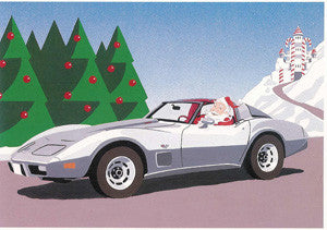 1978 Corvette Christmas Cards