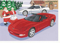 1997-1998 Corvette Christmas Cards