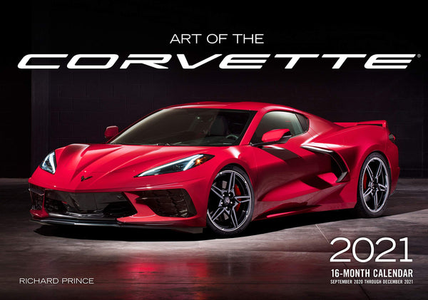 2021 Art of the Corvette 16-month Calendar