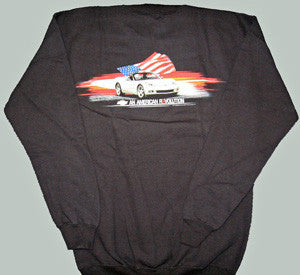 C6 Corvette Sweatshirt - American Revolution - Small Only
