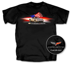 C6 Corvette T-shirt-American Revolution-Small & 3X only