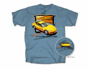 C6 Corvette T-shirt - Open Road - Small only
