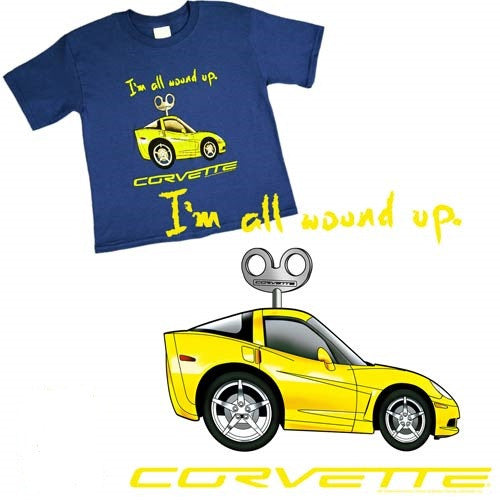 All Wound Up Corvette Youth Tee